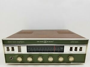 Vintage Voice Of Music 1484-2 AM/FM Stereo Receiver VM Tested!