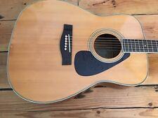 Yamaha FG 340 Acoustic Guitar 1970s Roadworn FG340 3 Piece Back