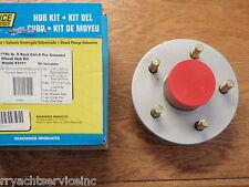 BOAT TRAILER GALVANIZED WHEEL HUB 5 LUG 50-53101 WITH BEARINGS SALTWATER MARINE