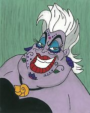 Ursula Day of the Dead print 8X10, Comic character and Pop Art