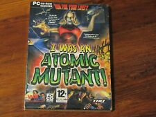 I WAS AN  ATOMIC MUTANT  jeu PC VINTAGE NEUF/CELLO COLLECTOR !!!!