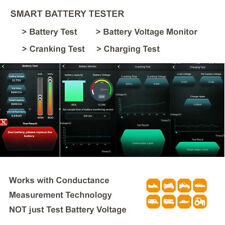Battery Tester VOLT Cranking Charging Test Car 12V Lead Acid Bluetooth Free AP