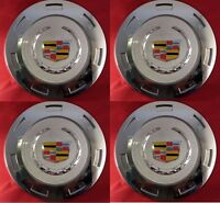 "4pcs. 2007-2013 CADILLAC ESCALADE COLORED CREST 22"" WHEEL CENTER CAP 9596649"