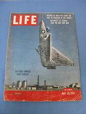 LIFE MAGAZINE MAY 20 1957 VERTIJET BROOKLYN DODGERS INDY AUTO RACE HENRY FORD