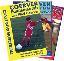 Coerver Soccer Fundamentals - 3 DVD Set