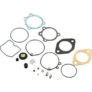 Drag Specialties 1003-0291 Keihin Carburetor Rebuild Kit Butterfly Carbs Harley