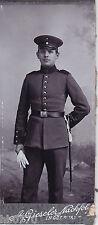 CDV Portrait. Offizier mit Portepee. Ingolstadt.