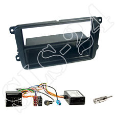 Radioblende+Fach + CAN BUS Interface VW Golf V CC Passat Caddy Amarok T5 Touran