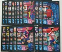 2020 UEFA Champions League Soccer Cards Match Attax Extra - Lot of 20 cards