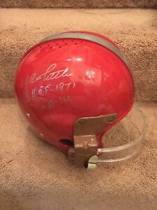 Y. A. Tittle Autographed Signed San Francisco 49ers Football Helmet HOF JSA COA