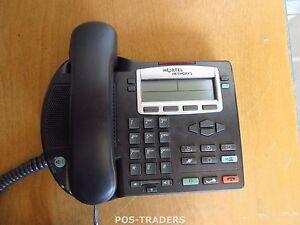 Nortel Networks IP Phone 2002 NTDU91 POE VOIP Corded Handset Desktop EXCL STAND