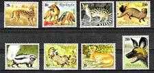 #8271 RWANDA FAUNA WILD ANIMALS YV 1000-7 MNH