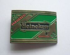 Heineken Imported Holland Beer Belt Buckle - Solid Brass - Baron Buckles