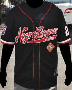 NLBM Legacy Baseball Jersey Black