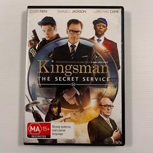 The Kingsman - Secret Service (DVD 2015) Samuel L. Jackson Colin Firth Region 4