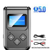 Bluetooth Adapter LED Screen Wireless Audio Bluetooth 5.0 Transmitter Receiver