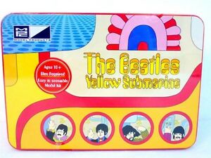 AMT Yellow Submarine model kit in Collector's Editionmodel kit new in  lunch Tin