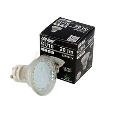 LED Line® GU10 Spotlight Bulb SMD 1W Green Low Consumption Energy Saving Light