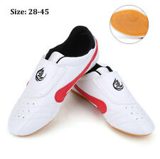 Pu Unisex Taekwondo Kung Fu Karate Tai Chi Training Shoes Footwear Sneakers Bs
