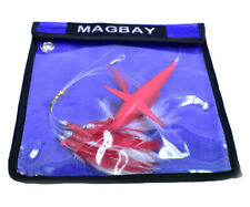Daisy Chain Teaser with Bird - Red Feather Rigged w/Bag - Magbay Lures