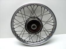 Yamaha MX100 MX 100 #4225 Chrome Rear Wheel
