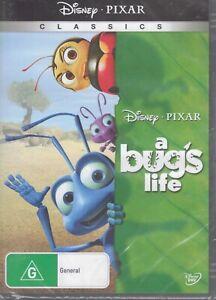 A BUG'S LIFE - Disney Pixar Classic (2 x DVD) NEW & SEALED Free Post