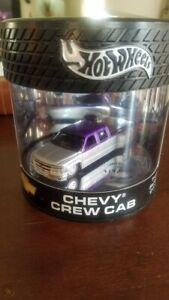 Hot Wheels Showcase Oil Can Truck Series Chevy Crew Cab