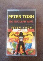 Music Cassette Tape - Peter Tosh - No Nuclear War