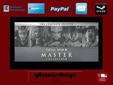 Total War MASTER COLLECTION STEAM KEY PC GAME NUOVO CODICE SPEDIZIONE LAMPO