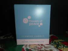Lladro Flowers of Peace Scented Candle Valencia Spain