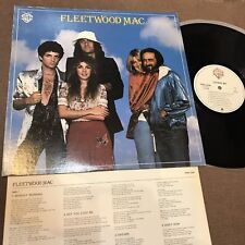 FLEETWOOD MAC JAPAN MAIL ORDER-ONLY LP w/PS FCPA1038 CBS SONY FAMILY CLUB FreeSH