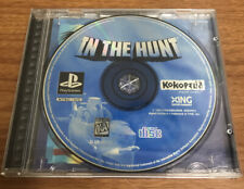 In The Hunt Ps1 Jewel Case *RARE* NO MANUAL - Tested Sony PS1 Playstation