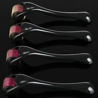 Professional 0.5mm-2.0mm Titanium 540 Derma Replacement Micro Needle Roller Set