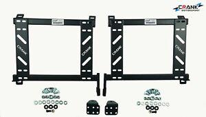 2x Crank Impreza WRX  GD Forester Seat adapter rail suit BRIDE RECARO SPARCO