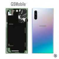 Tapa Bateria Back Cover Camara Lente Samsung Galaxy Note 10 N970F Aura ORIGINAL