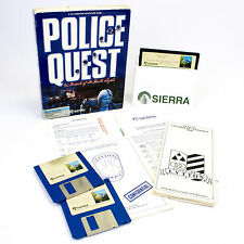 Police Quest: In Pursuit of the Death Angel for IBM PC / Tandy, Big Box, 1987