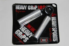 Heavy Grips Hand Grippers HG100 Beginner Crushing Grip + Finger Exercise Bands