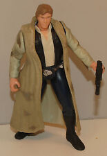"1997 Han Solo in Endor Camouflage Gear 4"" Action Figure Star Wars"