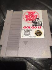 Golgo 13: Top Secret Episode (Nintendo Entertainment System 1988) NES Video Game