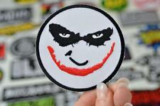 THE JOKER Batman Movie Evil Monster Face Makeup Actor  Patch Iron/Sew On PatcheS
