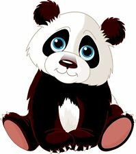 PREMIUM Autoaufkleber Panda Pandabär Bär Auto Biker Aufkleber Sticker Kinder .