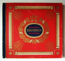 Uniformen der alten Armee, Waldorf Astoria, 312 Zigarettenbilder, komplett.