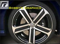 "VW GOLF  7 MK7 CADIZ WHEEL INLAY 18"" Wheel Vinyl"