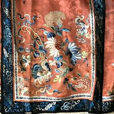 New listing Lovely Antique Chinese Wedding or Court Lady Embroidered Skirt