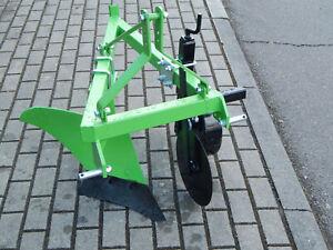Einschar-Beetpflug,  Pflug Traktor