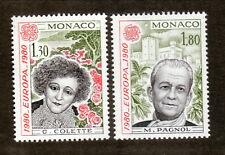 Monaco--#1227-28 MNH--Europa/Literature--1980