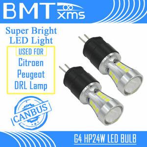 Premium G4 HP24W LED DRL Daytime Running Light for Citroen C5 Peugeot 3008