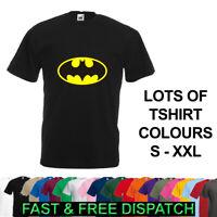 Batman DC Comics Logo T-Shirt Brand New Personalised S-XXL