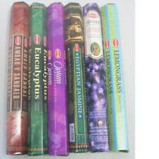 HEM Incense Sticks Best Sellers 6 Boxes X 20 Grams, Variety Pack, Total 120 Gm