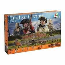 Italeri 1/72 The Last Outpost 1754-1763 French And Indian War # 6180